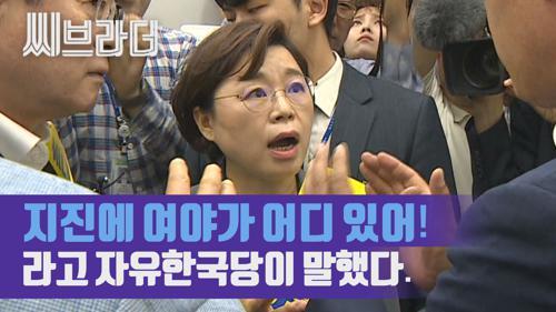 '지진에 여야가 어디 있어!' 여당 포항지진 행사에 간 자유한국당 (ft.낄낄빠빠) [C 브라더]  이미지