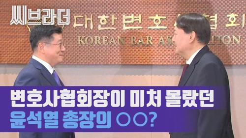 윤석열 검찰총장이 변호사들에게 바라는 점 '검찰에 신랄한 지적 해주시길' [C브라더] 이미지