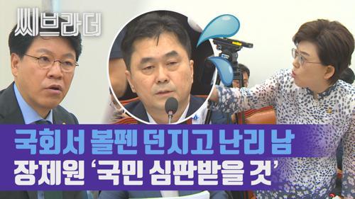 볼펜 던지고 난리 난 정개특위 소위, 장제원 '민주당, 국민 심판받을 것' [C브라더] 이미지