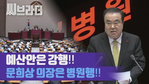 오늘도 국회는 아수라장! 자유한국당 거센 항의에 문희상 의장 병원행?! [씨브라더] 이미지