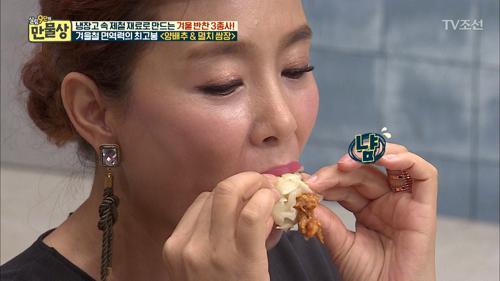 김원희가 맛에 놀랐다?! 양배추쌈과 멸치쌈장!