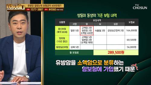 같은 질병·같은 수술.. '보험금 차이'의 이유 ✓ TV CHOSUN 20210107 방송