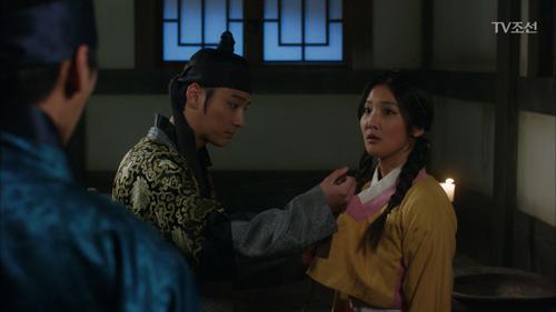 윤시윤, 처음 만난 손지현 옷고름 풀다(?) 딱 걸림