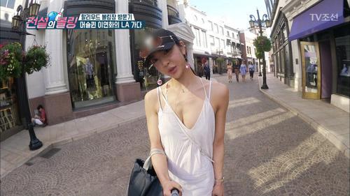 머슬퀸 이연화! 할리우드에서 발산한 엄청난 섹시미