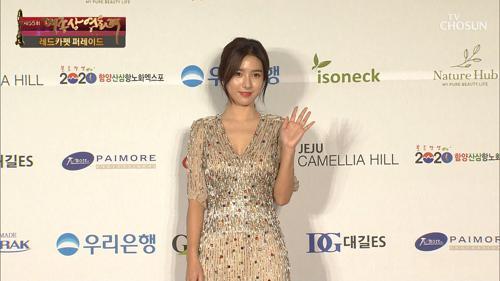 아름다운 자태를 보여준 김소은!