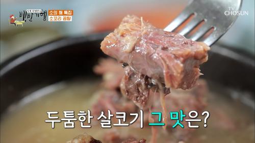 (맛있겠다🤤) 촉촉하고 부드러운 소꼬리 곰탕의 맛 TV CHOSUN 20210219 방송