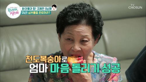 찌까했데이(?)쓰다? 신박한 ★천도 복숭아 맛 표현★