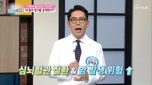 암으로 사망률 높이는 '비만' #광고포함