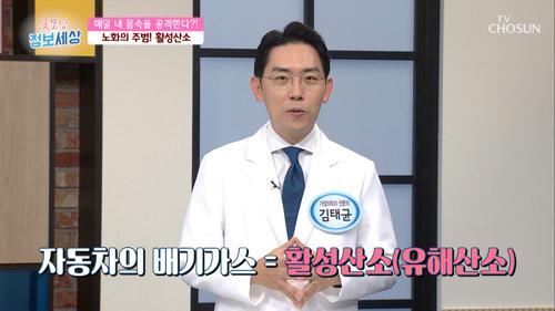 ※활성산소 ※ 몸속 공격해 노화·혈관질환 노출 #광고포함