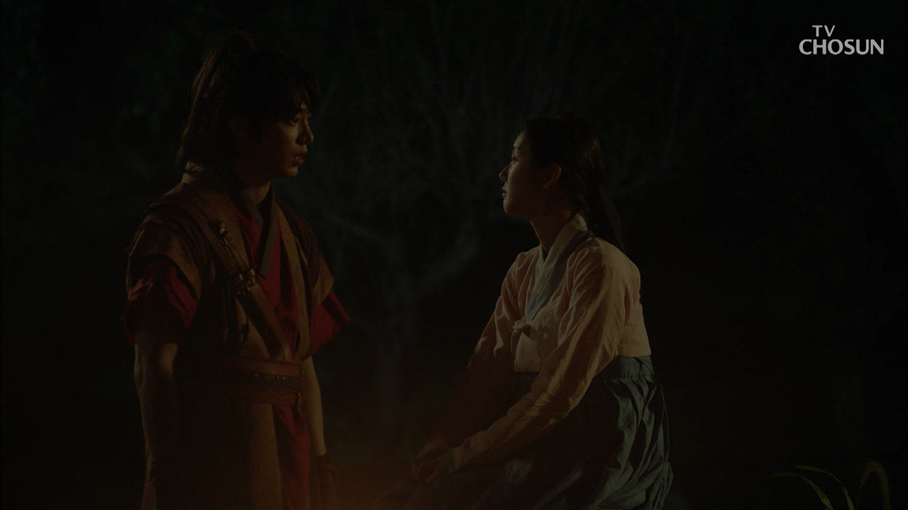 눈물 없이는 못 볼... 송원석X박세완의 이별