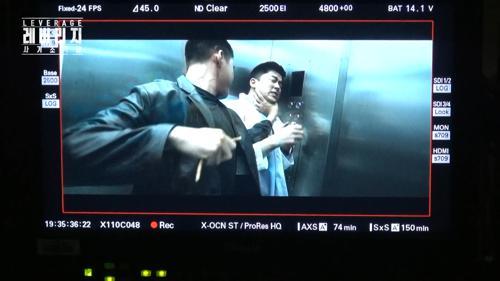 [메이킹] 고스트 엘리베이터 액션씬의 비밀은? (+로이잔망♡) 레버리지 : 사기조작단