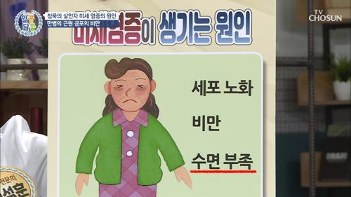 침묵의 살인자 '미세 염증' 원인은?