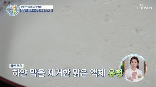 ❛유청 단백질❜ 필수 아미노산이 풍부한 완전 단백질 TV CHOSUN 20210401 방송