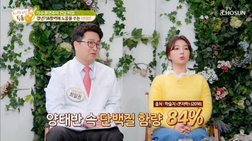 단백질 多 갱년기 & 활력에 도움 주는 ❛양태반❜ TV CHOSUN 210302 방송