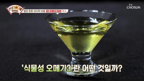 혈관 건강 UP↗ 되는 『식물성 오메가3』 #광고포함