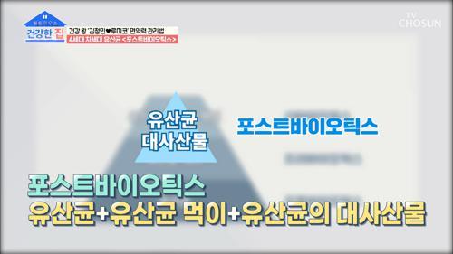 장 건강 돕는 차세대 유산균 ˹이것˼은? TV CHOSUN 20210104 방송