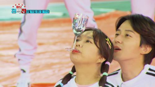 [선공개] 아슬 아슬 물 먹여주기 (정수리에서 정수 된 물?🤣) TV CHOSUN 210615 방송