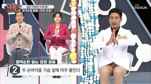 〈합장 운동〉 의자 하나면 혈관 걱정 끝~! #광고포함