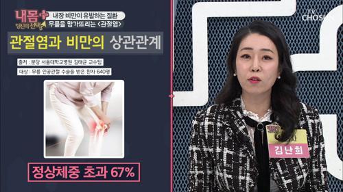 내장 비만이 유발하는 【관절염 & 대장암】 #광고포함