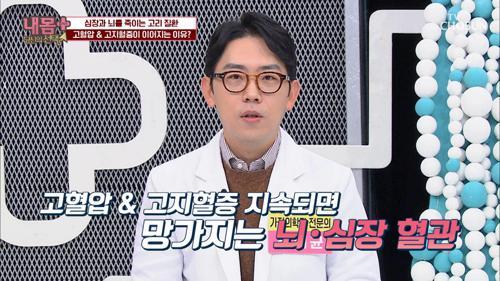 고혈압 & 고지혈증 지속되면 심하면 사망☠ TV CHOSUN 20210110 방송