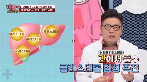 (충격) 콜레스테롤의 주범이 아메리카노☕️ TV CHOSUN 20210110 방송