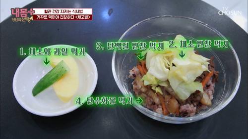 다이어트 도움 되는 『거꾸로 식사법』🍽 TV CHOSUN 20210117 방송