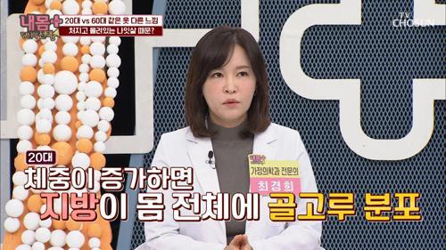 빠져나가는 필수 영양소! 전신 질환 유발 하는 【나잇살】 TV CHOSUN 20210122 방송
