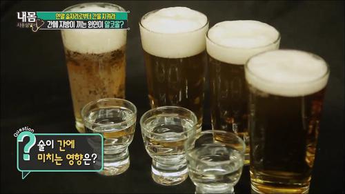 술이 간에 미치는 영향은?
