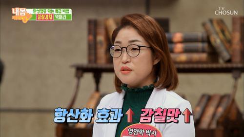 감칠맛 UP! 다이어트 까지?! '김장김치'의 매력!