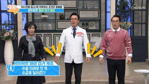 ↑찌릿찌릿↑ 혈관 전기체조로 NO분비 촉진