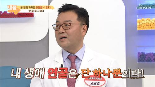 평생 단 하나!! 손상되면 재생이 어려운 '연골' TV CHOSUN 210129 방송