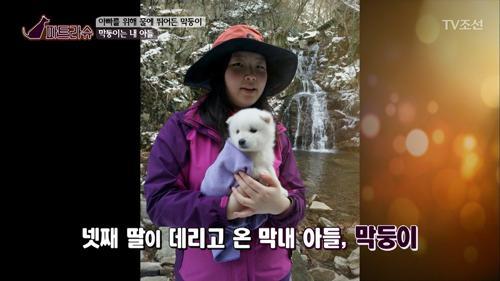 강아지의 이름이 막둥이인 사연이 있다?!
