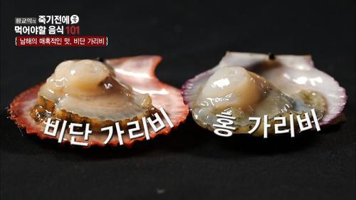 남해의 매혹적인 맛, 비단 가리비!