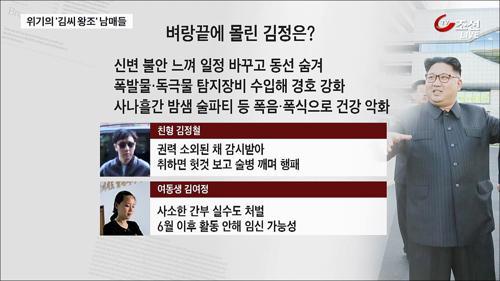 北 김정은, 무절제한 파티로 건강 적신호
