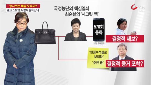 '특급 도우미' 장시호, 이번엔 '최순실 시크릿백' 제보?