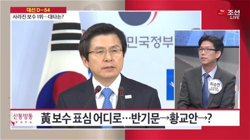 黃 보수 표심 어디로…반기문→황교안→?