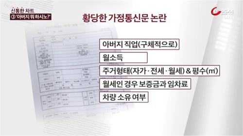 """""""집은 몇 평? 월세 보증금까지…"""" 황당한 가정통신문"""