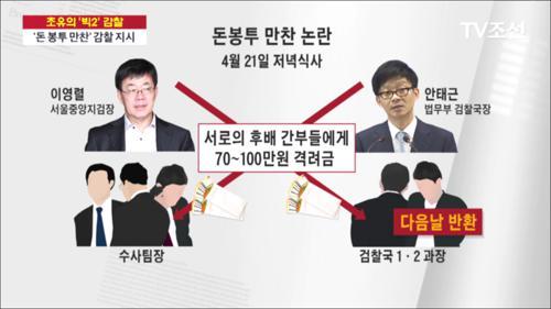 '돈봉투 만찬' 감찰…검찰 '개혁·인적쇄신' 신호탄?