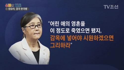 """최순실 """"정유라 인생은 죽었다…너무 잔인한 상황"""""""