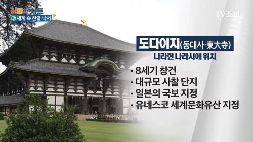 '日 세계유산'에 한글낙서 발견…범인은 한국인?