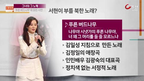 '소녀시대' 서현, 北 김광숙 노래 부르는 까닭?