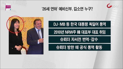 """'26살 차' 슈뢰더와 김소연 """"우리 결혼해요"""""""
