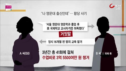 2살 과외비가 3억?...'가짜 선생' 징역 1년 실형