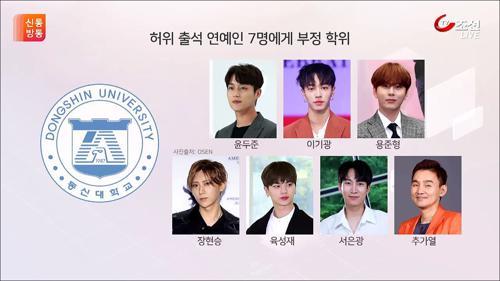아이돌은 결석해도 괜찮다?…윤두준·육성재 등 학위 취소