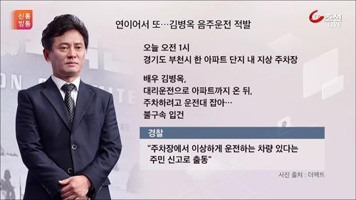 안재욱 이어 김병옥도…연예계 줄줄이 음주운전