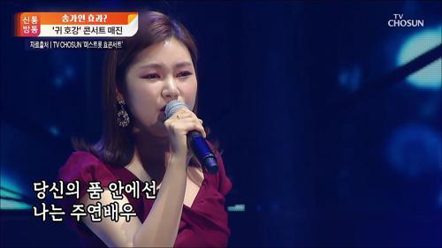 '귀 호강' 미스트롯 콘서트 뜨거운 인기...'송가인 효과' 입증?