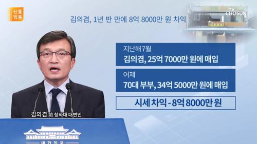 나흘 만에 팔린 '김의겸 상가'...1년여 만에 8억대 차익