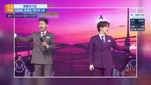 '엎치락 뒤치락' 혈전 끝에…트롯맨 7人 결승행
