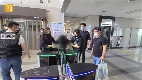 아이 가둔 가방 밟고 뛰기까지…천안 의붓엄마 살인혐의
