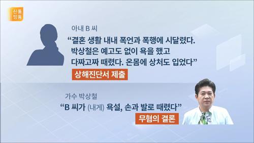 가수 박상철, 불륜·폭행·이혼소송 논란